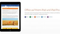 iPad Pro 9.7: Microsoft Office-Apps für iOS kostenlos nutzbar