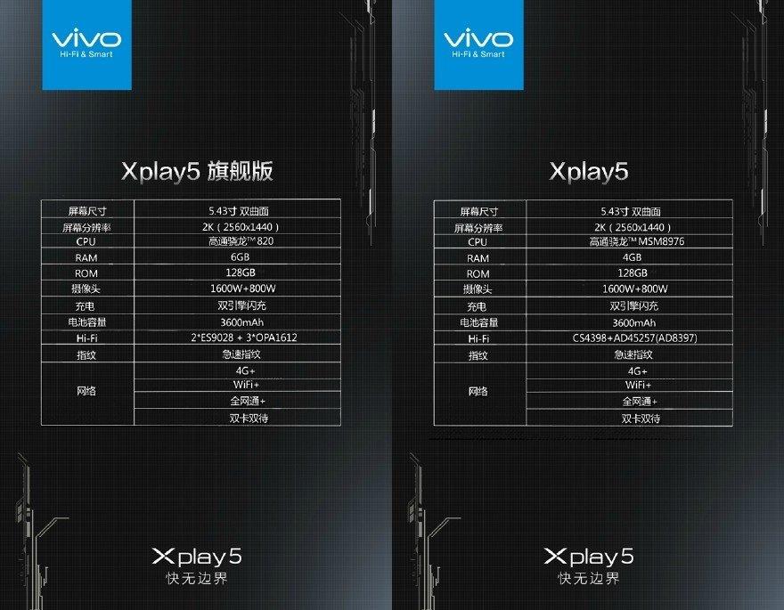 vivo-xplay-5-2K-display specs
