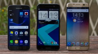 Vergleich: HTC 10 vs. Samsung Galaxy S7 (Video)