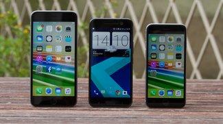 Vergleich: HTC 10 vs. iPhone 6s (Video)