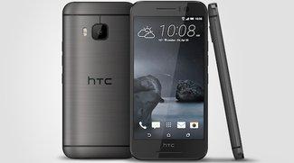 HTC One S9 mit 5 Zoll, Metallgehäuse und Helio X10 vorgestellt