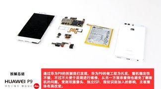 Teardown: Huawei P9 in Einzelteile zerlegt