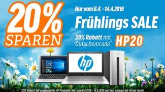 Frühlings Sale: HP Spectre x360, Pavilion x2 10 uvm. mit 20 Prozent Rabatt