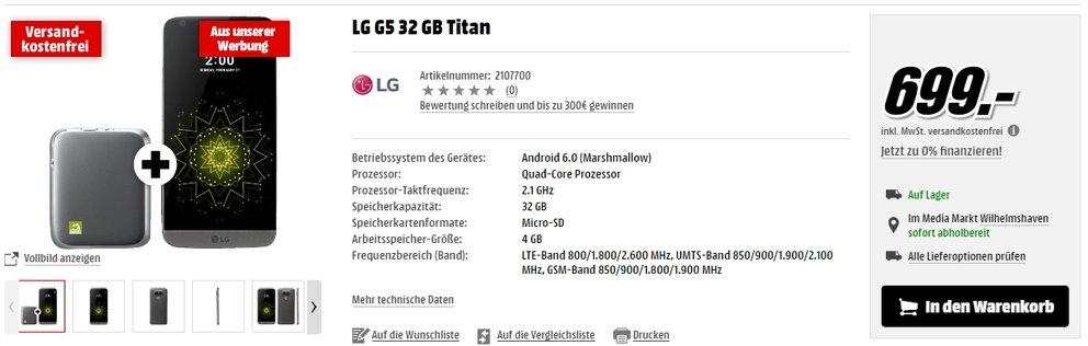 lg g5 media markt
