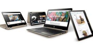 HP Pavilion x360 Convertible mit bis zu 15,6 Zoll komplett neu aufgelegt (Video)