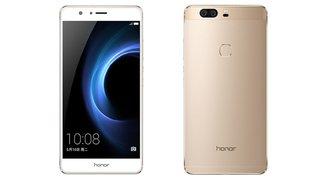 Honor V8 mit 5.7 Zoll, WQHD-Display, Dual-Kamera und 3.500-mAh-Akku vorgestellt