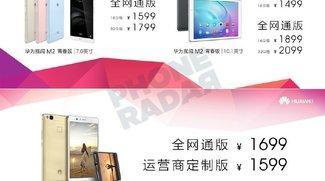 Huawei MediaPad M2 7.0 Tablet mit Dual-SIM offiziell vorgestellt