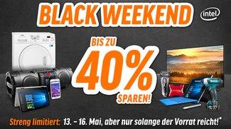 Notebooksbilliger Black Weekend: Bis zu 40 Prozent Rabatt absahnen