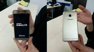 Samsung Galaxy C5 &amp&#x3B; C7: 5.2 &amp&#x3B; 5.7 Zoll, 4 GB RAM und Galaxy-S6-Kamera