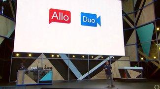 Google I/O 2016: Allo und Duo als neue Messenger vorgestellt