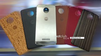 Moto Z: Fotos zeigen Style Mods aus verschiedenen Materialien