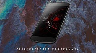 Paranoid Android 2016: Custom ROM feiert Rückkehr