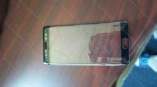 Samsung Galaxy Note 7: Foto zeigt Frontpanel mit Iris-Scanner