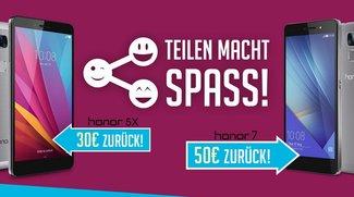 Deal: Honor 5X für 169,99 Euro durch 30 Euro Cashback und Preissenkung