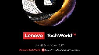 Lenovo Moto Z: Vorstellung im Livestream ab 19 Uhr auf der Tech World 2016 anschauen