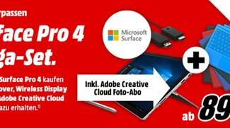 Deal: Surface Pro 4 inkl. Type Cover und Display Adapter für ab 899 Euro