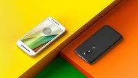 Motorola Moto E3: 5-Zoll-Display & Android 6.0 Marshmallow