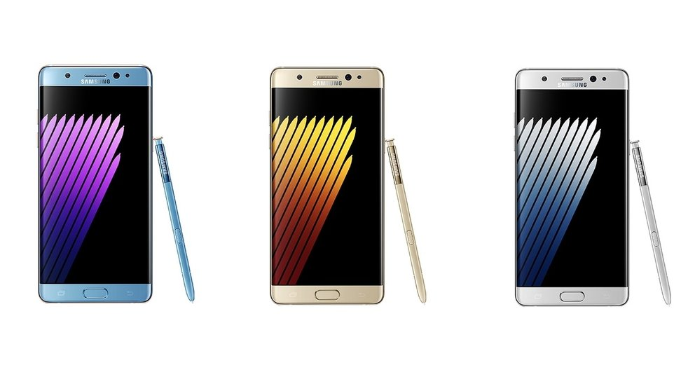 Samsung Galaxy Note 7: Neue Pressebilder und Iris-Scanner in Aktion (Update)