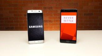 Samsung Galaxy S7 edge unterliegt OnePlus 3 im neuen Speed-Test