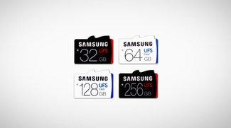 Samsung: UFS-Karten als microSD-Nachfolger vorgestellt
