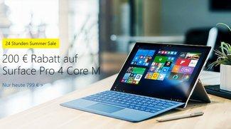 Summer Sale bei Microsoft: Surface Pro 4, Lumia 950 und mehr reduziert