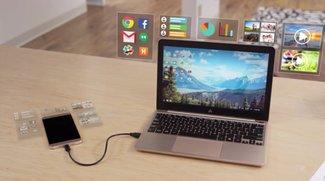 Superbook: 99-Doll-Laptop-Dock für Android-Smartphones ist neuer Hit bei Kickstarter