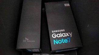 Samsung Galaxy Note 7: Verpackung bestätigt technische Daten
