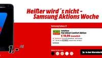 Deal: Samsung Galaxy S7 mit Vodafone-Allnet-Flat und 1 GB Daten für 19,99 Euro im Monat (Update)