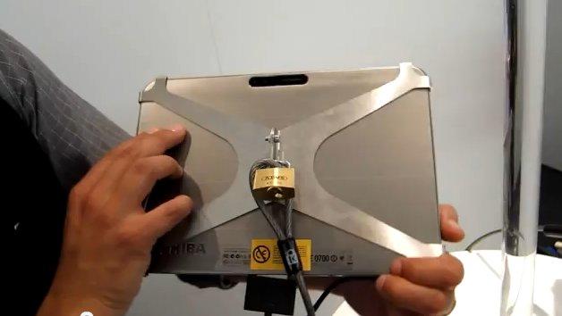 IFA 2011: Toshiba AT200 (vormals Excite) Hands On-Video