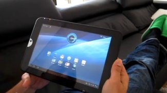 Toshiba Thrive aka AT100 im Hands On-Video