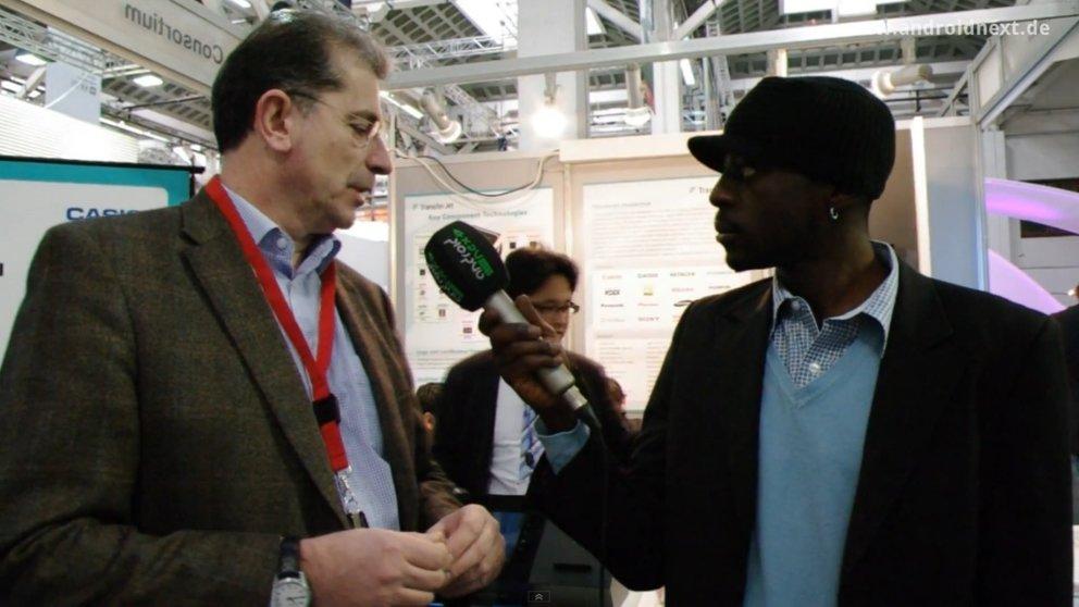 TransferJet: Demo und Interview zur ultraschnellen Datenübertragung [MWC 2012]