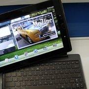 Asus Eee Pads Slider, Transformer und MeMO im Hands-On [MWC 2011]