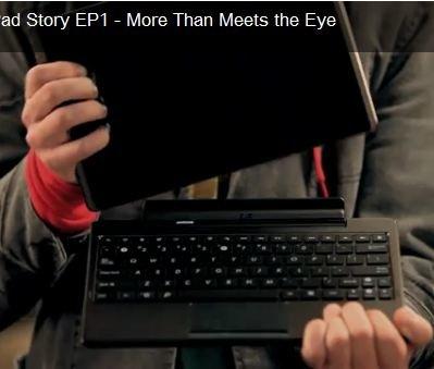 Asus Eee Pad Theory: Transformer Werbespot im Sitcom-Stil