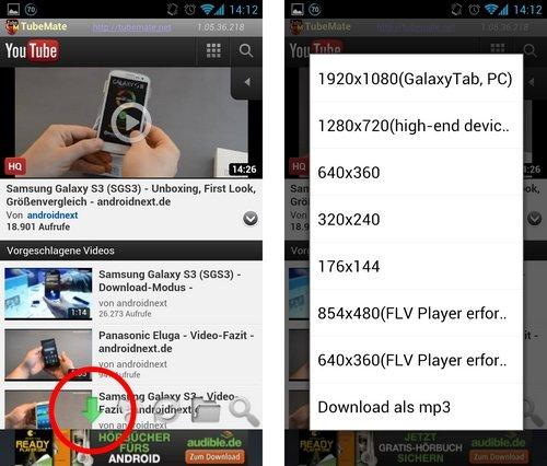 tubemate: video download