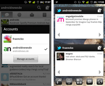 twitter android multiple accounts