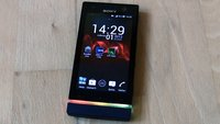"Sony Xperia U: Farbenfrohe LED-Animationen dank ""U Disco""-App"