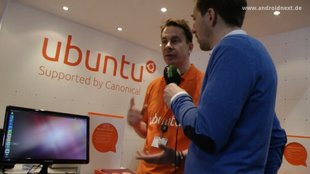 Ubuntu für Android: Interview mit Richard Collins von Canonical [MWC 2012]