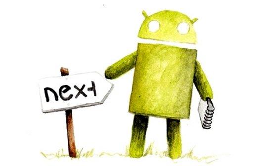 Und sonst so? Letzte Schneehäufchen aus dem Android-Winter (Donnerstag, 4.4.2013)