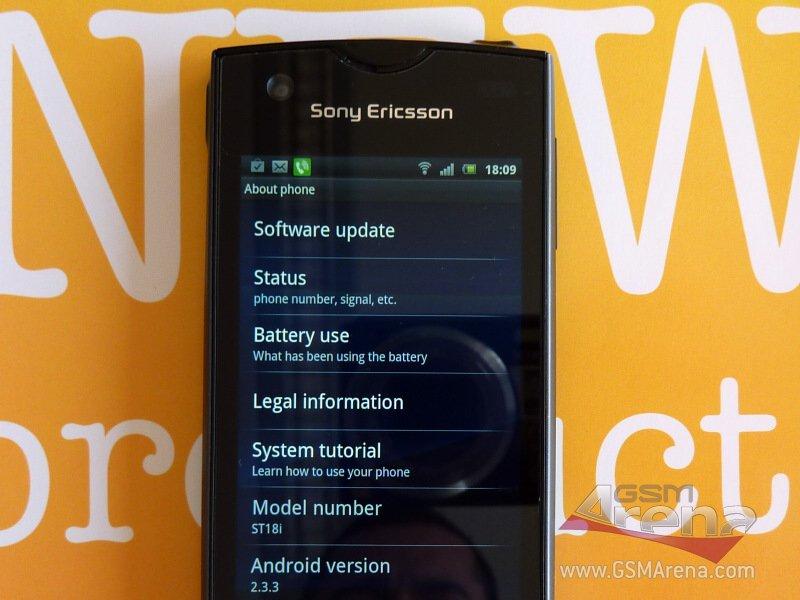 """Sony Ericsson ST18i Urushi: neue Bilder des """"kleinen Arc"""""""
