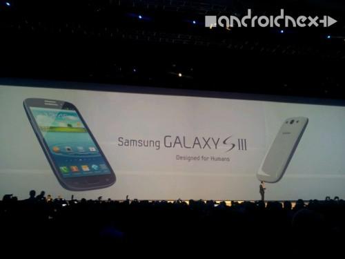 Vorder- und Rückseite Samsung Galaxy S3