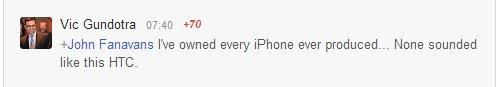 vic gundotra über das htc one (und iPhones)