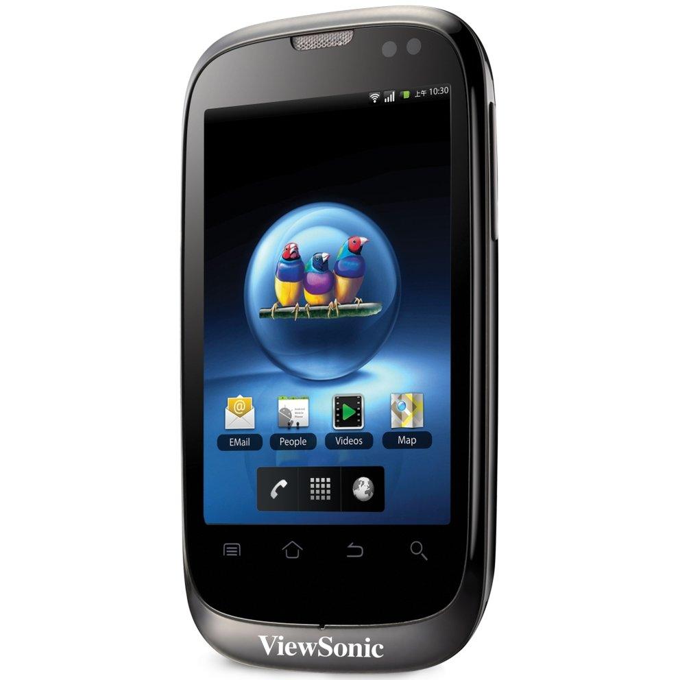 ViewSonic V350: Android-Handy mit Dual-SIM vorgestellt [MWC 2011]