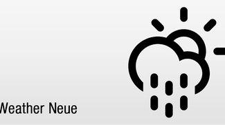 Weather Neue: Wetter-App für Minimalisten