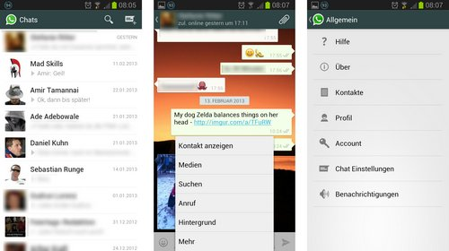 whatsapp holo redesign