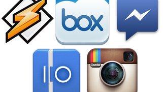 Android-Apps: Updates für Instagram, Facebook Messenger, Winamp &amp&#x3B; mehr
