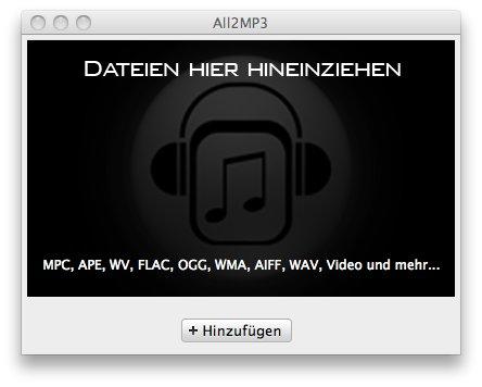Irgendein Musikformat in unbeschützte MP3 durch virtuelles CD-Brennen konvertieren