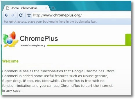 chromeplus screenshot
