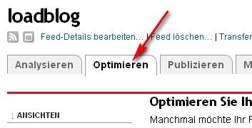 feedburner-optimieren