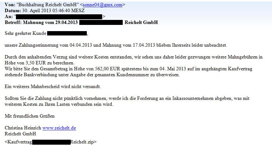 Phishing Mails Von Reichelt So Erkennt Man Den Trickbetrug Update