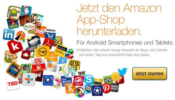 Amazon App Shop Sortiment